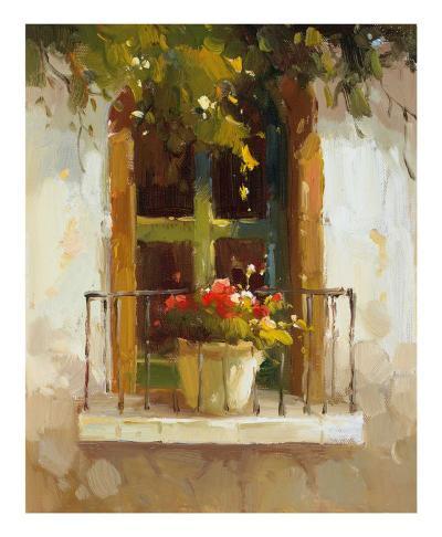Romantic Window II-Calvin Stephens-Art Print