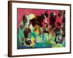Carolina Shout by Romare Bearden