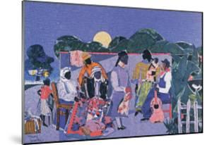 Quilting Time by Romare Bearden