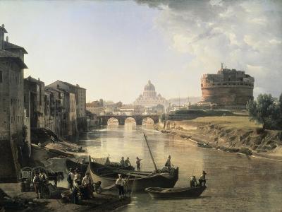Rome, Castel San Angelo-Silvestre Chedrin-Giclee Print