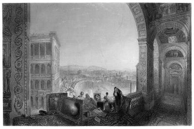 Rome, from the Vatican, Late 19th Century-A Willmore-Giclee Print