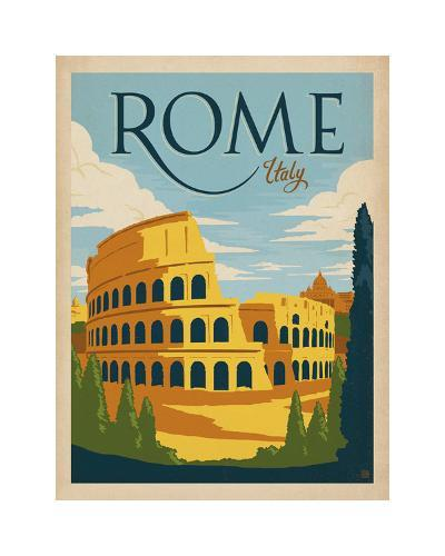 Rome, Italy-Anderson Design Group-Giclee Print
