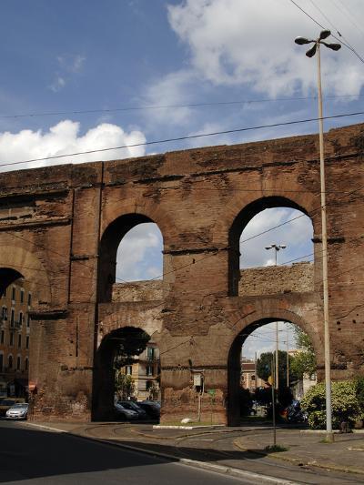Rome, Roman Walls--Photographic Print