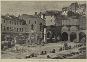 Rome, the Recently Discovered Basilica Giulia