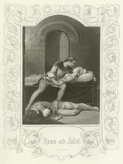 Romeo and Juliet, Act V, Scene III-Joseph Kenny Meadows-Giclee Print