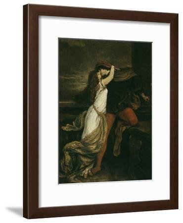 Romeo and Juliet, c. 1869-Victor M?ller-Framed Giclee Print