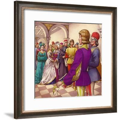 Romeo and Juliet-Pat Nicolle-Framed Giclee Print