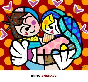 Embrace by Romero Britto