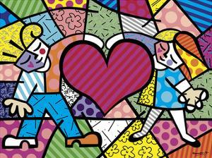 Heart Kids by Romero Britto