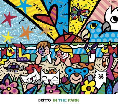 In the Park by Romero Britto