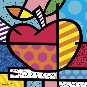 The Apple by Romero Britto