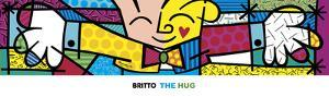 The Hug by Romero Britto