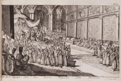 A Scene at the Royal Court of Tsar Alexis Mikhailovich, 1677