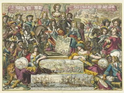 Allegory of the Victory of the Allies in 1704, 1704-1705