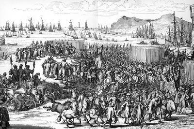 Arrival of William of Orange in England, 5 November 1688
