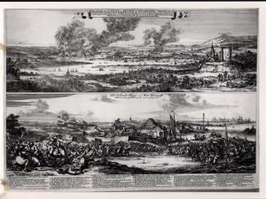 Dutch Attack on the River Medway 20th and 21st June 1667 by Romeyn De Hooghe
