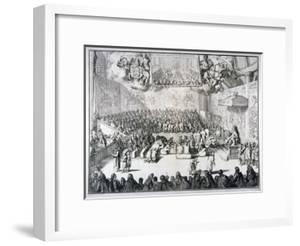 Het Hoog-En Lager-Huys Van Engelandt, 1689 by Romeyn De Hooghe