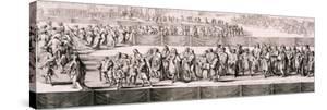 Queen Mary II's Funeral, Westminster Abbey, London, 1695 by Romeyn De Hooghe