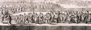 Queen Mary II's Funeral, Westminster Abbey, London, 1695 by Romeyn De Hooghe