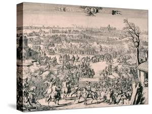 Royal Procession of King William III, 1688 by Romeyn De Hooghe