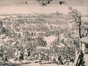 Royal Procession of King William III, 1688 by Romeyn De Hooghe