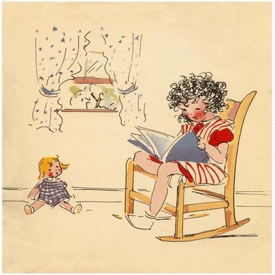 Reading to Dolly