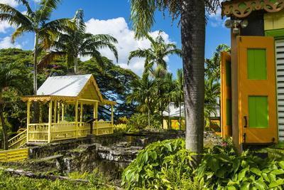 Romney Manor on St. Kitts-Michael Runkel-Photographic Print