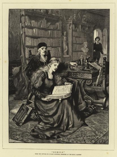 Romola-Edmund Blair Leighton-Giclee Print