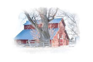 Red Barn by Romona Murdock