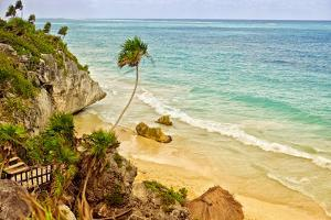 Tulum Beach by Romona Murdock