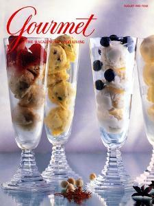 Gourmet Cover - August 1993 by Romulo Yanes