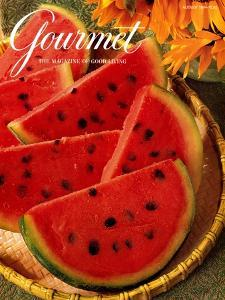 Gourmet Cover - August 1994 by Romulo Yanes