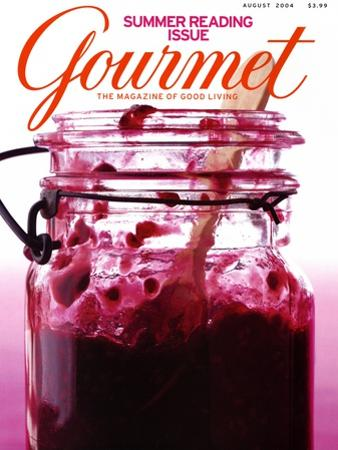 Gourmet Cover - August 2004 by Romulo Yanes