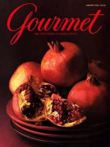 Gourmet Cover - January 2000 by Romulo Yanes