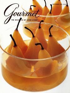 Gourmet Cover - September 1990 by Romulo Yanes