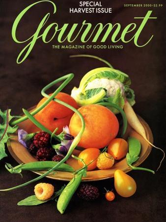 Gourmet Cover - September 2000 by Romulo Yanes