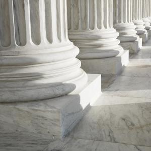 Columns at Supreme Court Building by Ron Chapple