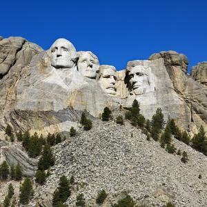 Mount Rushmore National Memorial by Ron Chapple