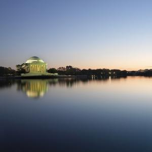 The Jefferson Memorial by Ron Chapple