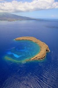 Molokini Crater Off the Coast of Maui by Ron Dahlquist