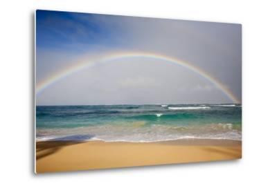 Rainbow at Baldwin Beach, Maui, Hawaii