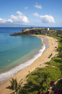 Sheraton Maui Resort and Spa, Kaanapali Beach, Famous Black Rock known for it's Snorkeling by Ron Dahlquist