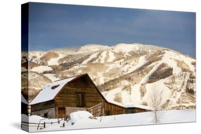 Steamboat Springs Ski Area and Barn, Colorado