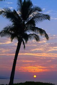 Sunset in Paradise, Makena, Maui, Hawaii by Ron Dahlquist