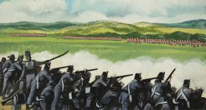 Battle of New Orleans on 8th January 1815 by Ron Embleton