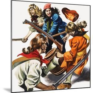 Female Pirates by Ron Embleton