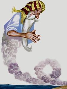 Genie by Ron Embleton