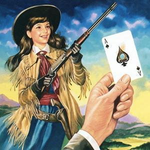 Miss Annie Oakley by Ron Embleton
