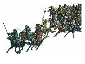 Mongol Warriors by Ron Embleton