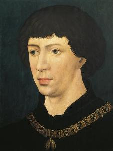Portrait of Charles I by Ron Embleton